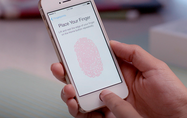 apple iphone fingerprint