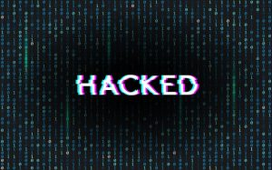 hacked, binary code